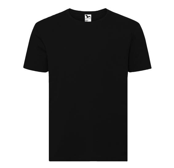 czarna męska koszulka Adler